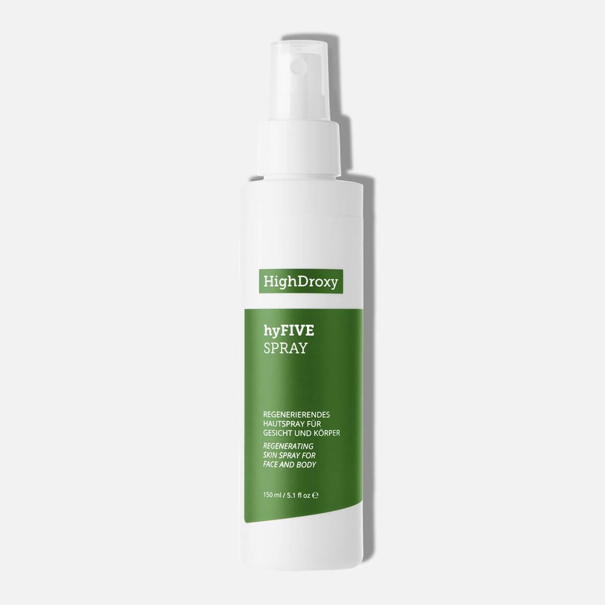 Highdroxy hyFive Spray Vollgröße Nahaufnahme