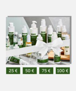 Das Highdroxy Sortiment zum verschenken als Gutschein für 25 bis 100 Euro Wert